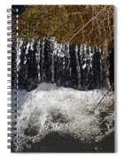 Liquid Bubbles Spiral Notebook