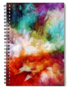 Liquid Colors - Enamel Edition Spiral Notebook