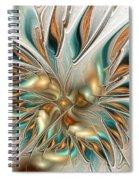 Liquid Flame Spiral Notebook