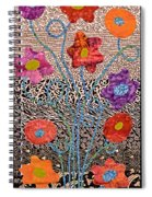 Liquid Flowers Spiral Notebook