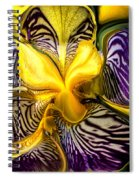Liquified Orchid Spiral Notebook