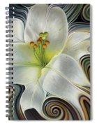 Lirio Dinamico Spiral Notebook