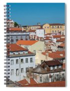 Lisbon Alfama District Spiral Notebook