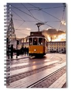 Lisbon Light Spiral Notebook