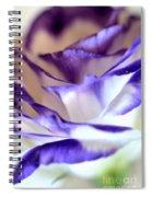 Lisianthus  Spiral Notebook