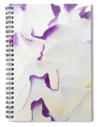 Lisianthus Frill Spiral Notebook