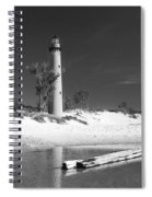 Litle Sable Light Station - Film Scan Spiral Notebook