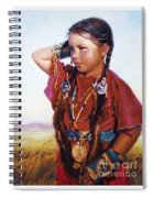 Little American Beauty II Spiral Notebook