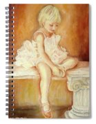 Little Ballerina Spiral Notebook