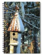 Little Birdhouse In The Woods Spiral Notebook