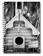 Little Birdie Church Spiral Notebook