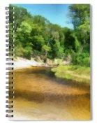 Little Black Creek - Hoffmaster State Park Spiral Notebook