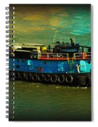 Little Blue Tug - New York City Spiral Notebook