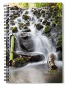 Little Cascade In Marlay Park Dublin Spiral Notebook