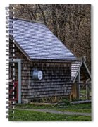 Little Cedar Shake Building Spiral Notebook