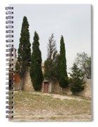 Little Chapel On A Hill Spiral Notebook