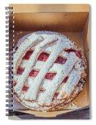 Little Cherry Pie Spiral Notebook