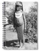 Little Chimbu Girl Papua New Guinea Spiral Notebook
