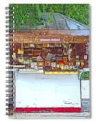 Little Cigar Shop Key West Spiral Notebook