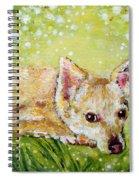 Little Dog Named Fern Spiral Notebook