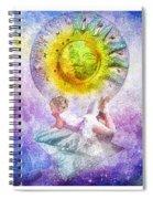 Little Dream Triptic Spiral Notebook