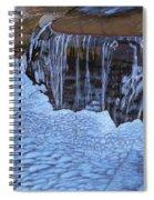 Little Frozen Waterfall Spiral Notebook