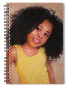 Little Girl Spiral Notebook