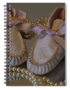 Little Girls To Pearls Spiral Notebook
