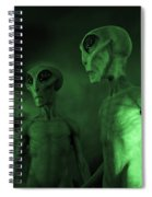 Aliens And Ufo 6 Spiral Notebook