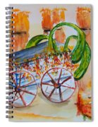 Little Harvest Wagon Spiral Notebook