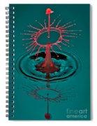 Little Hat On Top Spiral Notebook