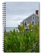 Little House By The Sea Spiral Notebook