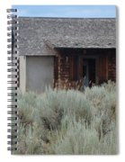 Little House In The Sage Spiral Notebook