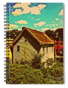 Little House - The World Around New York City Spiral Notebook