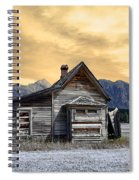 Little House On The Prairie Spiral Notebook