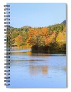 Little Long Pond And Bubbles Mount Desert Island Maine Spiral Notebook