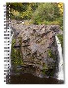 Little Manitou Falls Autumn 2 Spiral Notebook