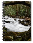Little Pigeon River In The Smokies Spiral Notebook