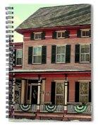Little Pink Houses Spiral Notebook