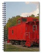 Little Red Caboose Spiral Notebook