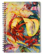 Little Red Devils Spiral Notebook