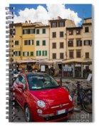 Little Red Fiat Spiral Notebook