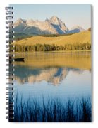 Little Red Fish Lake, Stanley, Idaho Spiral Notebook
