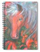 Little Red Horse Spiral Notebook