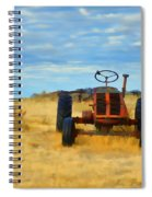 Little Red Tractor 4 Spiral Notebook