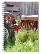Little Red Tractor Spiral Notebook