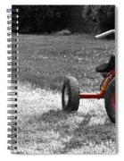 Little Red Trike Spiral Notebook