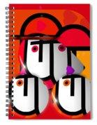 Little Red Truck Spiral Notebook