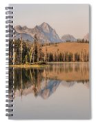 Little Redfish Lake Reflections Spiral Notebook