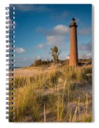 Little Sable Light Michigan Spiral Notebook
